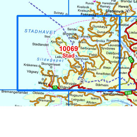 Map area for Stad  map