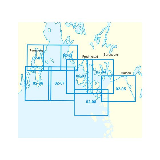Dekningsområdet 02-Strømstad(Hvaler)-Mefjorden kartet
