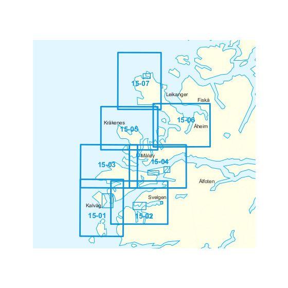 Dekningsområdet 15-Frøysjøen-Stad kartet