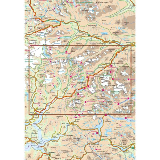 Sognefjellet Scenic Routes