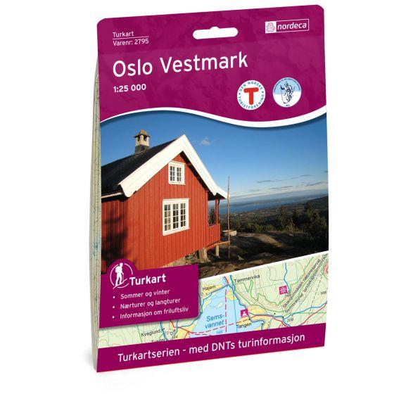 Produktbild für Oslo Vestmark 1:25 000 Karte
