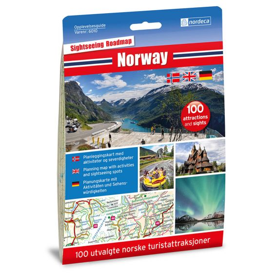 Cover image for Norway 1:1 000 000 map