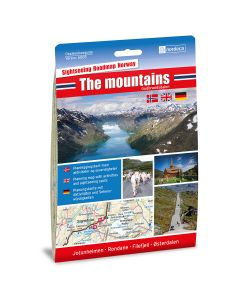 Forside av The mountains / Gudbrandsdalen 1:250 000 kart