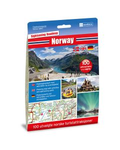 Forside av Norway 1:1 000 000 kart